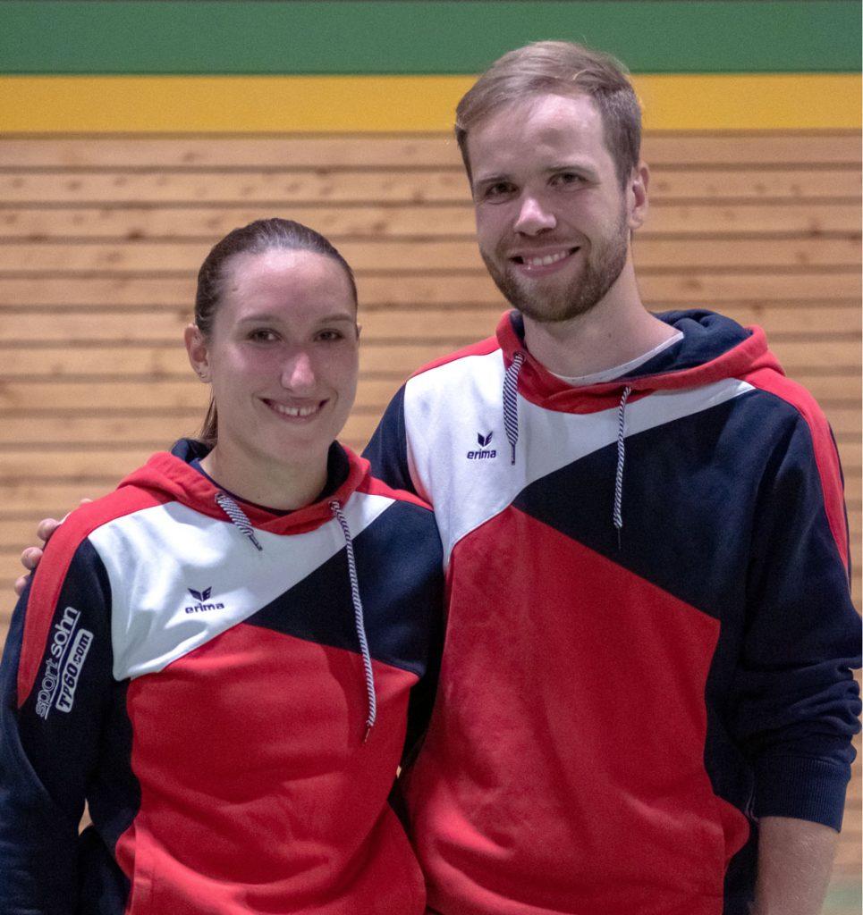 Abteilungsleiter Patricia Schierling und Fabian Matthäs