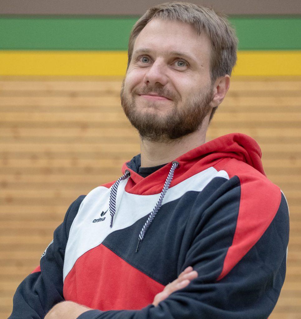 Trainer Florian Franke