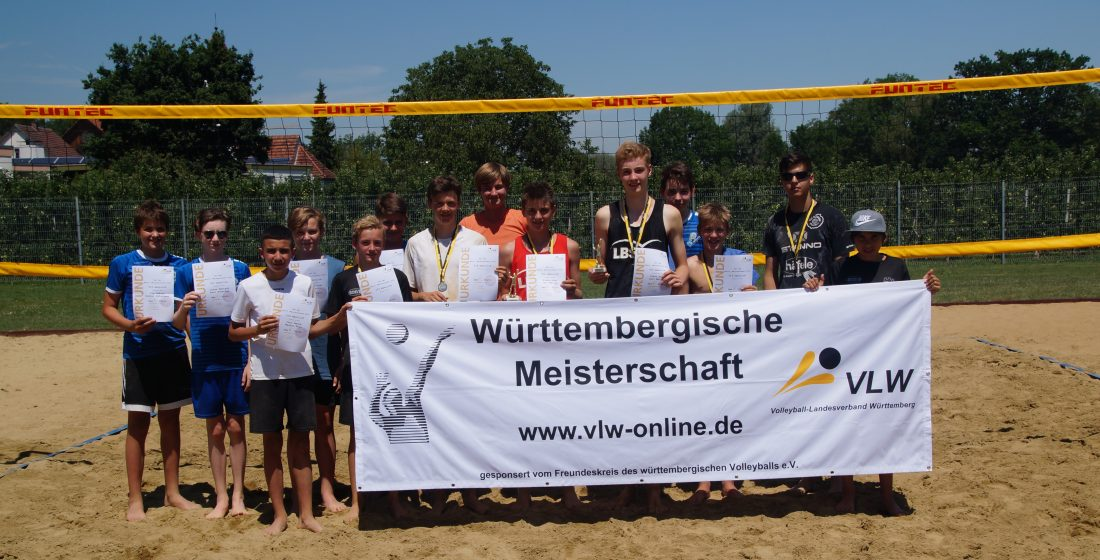 u16 beach wm Sieger