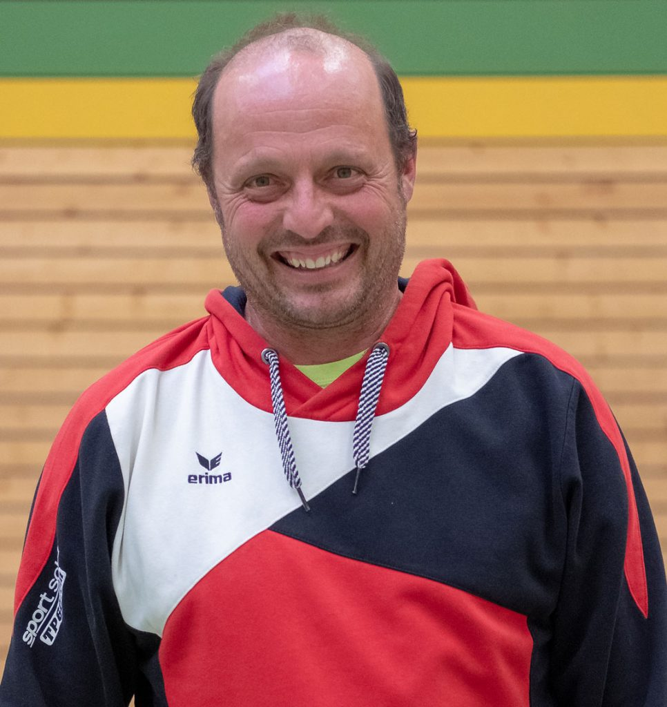Co-Trainer Klaus Schädle