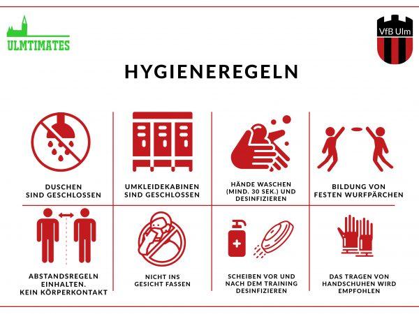 Corona Hygieneregeln Frisbee