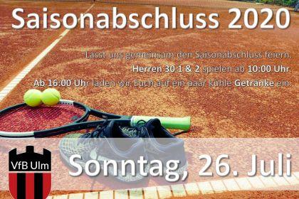 Saisonabschluss Tennis …