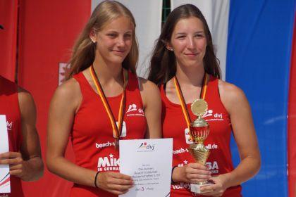 3. Platz bei der deutschen Beach-Meisterschaft …