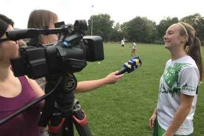 Carina Conzelmann im Fokus der Ulmer Medien …