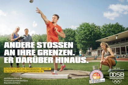 Erlangung des Sportabzeichens beim VfB Ulm …