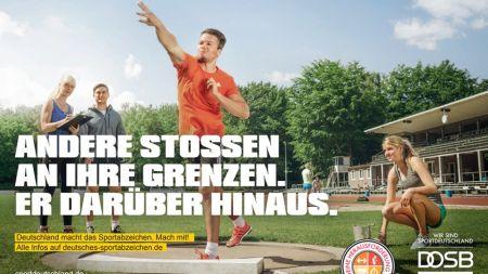 Erlangung des Sportabzeichens beim VfB …