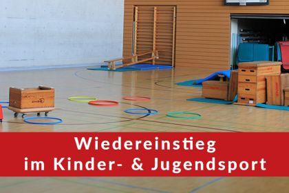 Geplanter Neustart im Bereich Kinder- & Jugendsport …