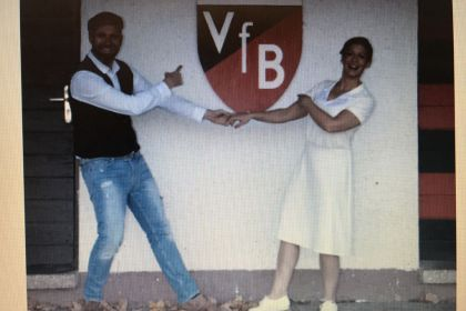 Tanzsport mit Eva und Mark – der Coup …